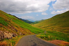 Silky Grassland in Lake District royalty free stock images