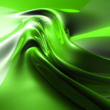 Silky green abstract background Royalty Free Stock Photography