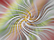 Silky knots. Abstract background with silky knots swirled in multiple colors Royalty Free Stock Images