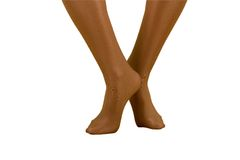 Silky Legs. Silky Leg Cross; isolated; clipping path included royalty free stock image