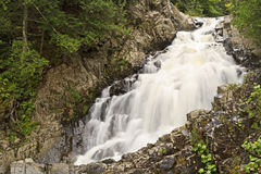 Silky Lower Split Rock Falls Royalty Free Stock Image