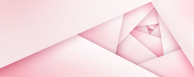 Silky pink rose geometric background Stock Images