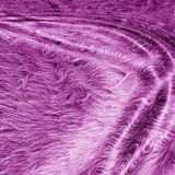 Silky purple fur. A silky purple furry texture Stock Photography
