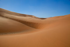 Silky Red Dunes. Red sand dunes of sossusvlei namibia Stock Images