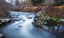 Silky rzeka Obraz Stock