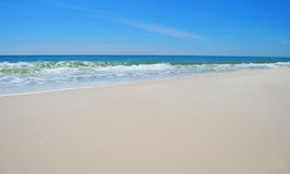 Silky Smooth Beach Royalty Free Stock Image