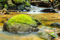 Silky smooth stream in the Smoky Mountains Stock Photo