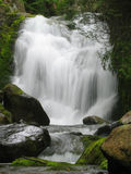 Silky smooth waterfall Stock Image