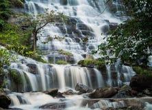 Silky smooth waterfall Stock Photos