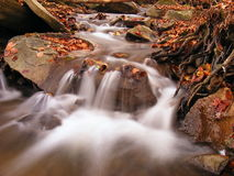 Silky torrent Royalty Free Stock Image