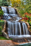 Silky Waterfall in High Dynamic Range Royalty Free Stock Images