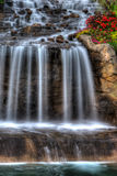 Silky Waterfall in High Dynamic Range Royalty Free Stock Photo