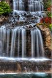 Silky Waterfall in High Dynamic Range Stock Photos