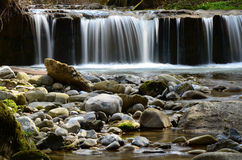 Silky waterfall Stock Image