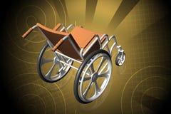 Sillón de ruedas Imagen de archivo
