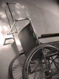 Sillón de ruedas fotografía de archivo