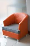 Silla anaranjada Imagen de archivo libre de regalías