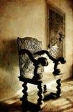 Silla antigua Fotografía de archivo