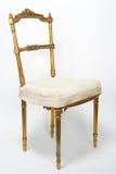 Silla antigua del oro Imagen de archivo