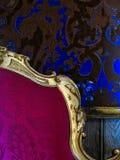Silla barroca Fotos de archivo libres de regalías