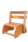 Silla convertible y Stepstool de Childs de la vendimia Fotografía de archivo