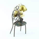 Silla creativa y decorativa con las plantas Fotografía de archivo libre de regalías