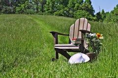 Silla de Adirondack Imagen de archivo libre de regalías