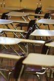 Silla de escritorio de la escuela Foto de archivo