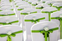 Silla de la boda Fotos de archivo libres de regalías