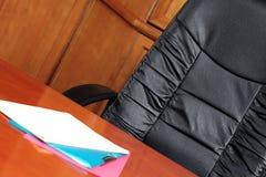 Silla de la sala de reunión Foto de archivo libre de regalías