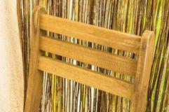 Silla de madera Fotografía de archivo