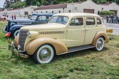 Silla de manos 1938 de la puerta de Chevrolet 4 fotos de archivo libres de regalías
