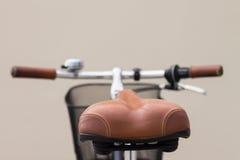 Silla de montar de la bicicleta Fotos de archivo