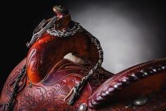 Silla de montar del caballo Fotografía de archivo