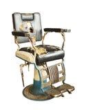 Silla de peluquero vieja Imagen de archivo libre de regalías