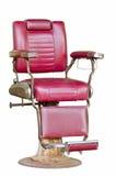 Silla de peluquero vieja Fotos de archivo libres de regalías