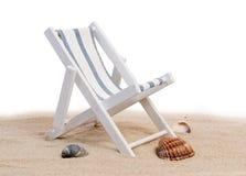 Silla de playa Fotos de archivo