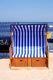Silla de playa fotografía de archivo