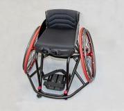 Silla de ruedas del manual de la incapacidad Foto de archivo libre de regalías