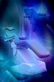 Silla dental Imagen de archivo libre de regalías