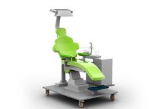 Silla dental Imagenes de archivo