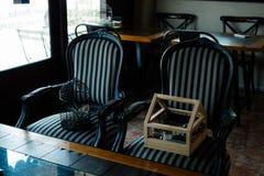 Silla doble Foto de archivo libre de regalías