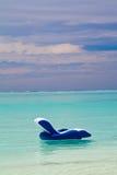 Silla en el mar Imagen de archivo libre de regalías