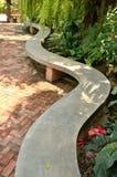 Silla en jardín Foto de archivo libre de regalías