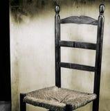 Silla española vieja Imagen de archivo