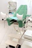Silla ginecológica Foto de archivo libre de regalías