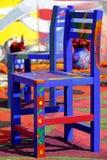 Silla I del color Foto de archivo libre de regalías