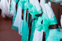 Silla magnífica de la boda Imagenes de archivo