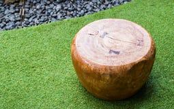 Silla moderna de madera imágenes de archivo libres de regalías
