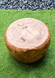 Silla moderna de madera foto de archivo